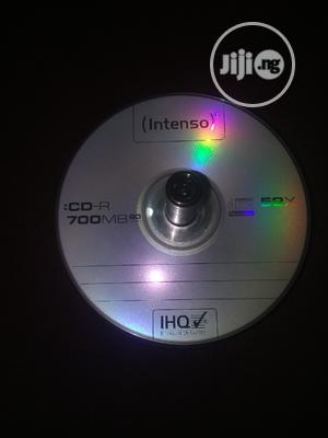 Burnable INTENOS CD-R(Empty Cds) | CDs & DVDs for sale in Edo State, Benin City