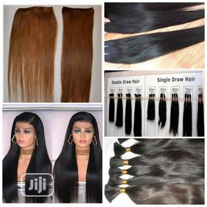 Single Draw Hair, Straight Brazilian Soft and Silky at 80 | Hair Beauty for sale in Kano State, Kura