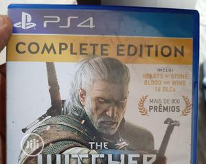 PS4 Witcher 3 - Used   Video Games for sale in Lagos State, Agege
