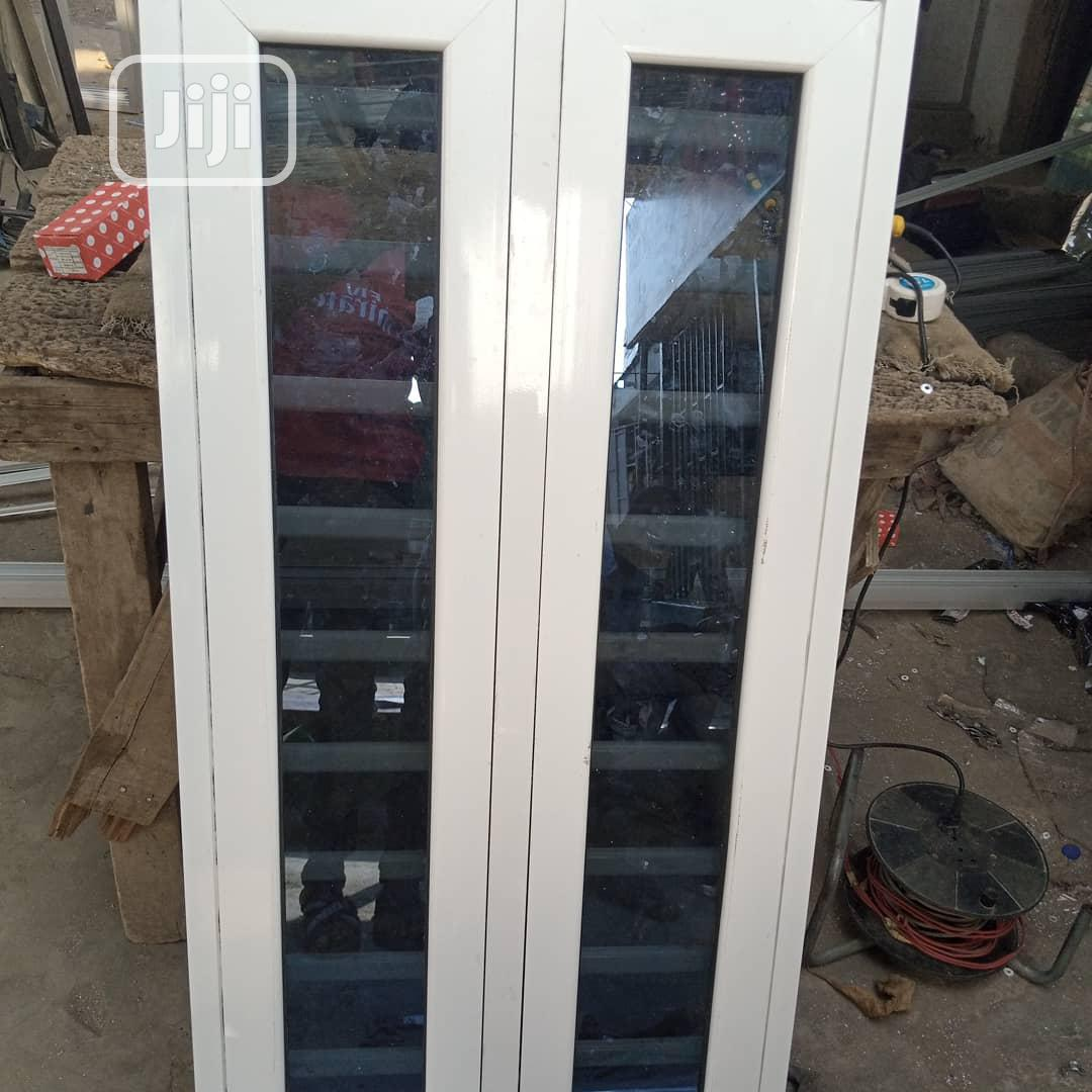 Casement Window With Burglary and Net | Windows for sale in Agege, Lagos State, Nigeria