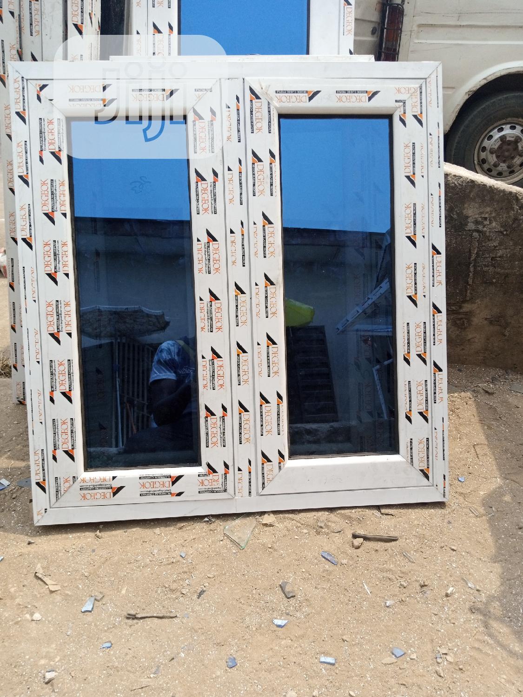 Casement Window With Burglary and Net