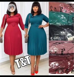 New Female Quality Pleated Gown | Clothing for sale in Lagos State, Ikeja