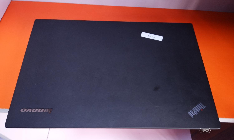 Laptop Lenovo ThinkPad T450 8GB Intel Core I5 SSD 500GB   Laptops & Computers for sale in Ikeja, Lagos State, Nigeria