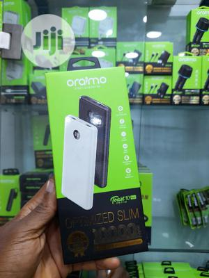 Oraimo COMPACT 10000mah Fast Charging Power Bank White   Accessories for Mobile Phones & Tablets for sale in Lagos State, Ikeja
