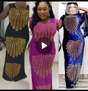 Classic Female Long Embellished Gown   Clothing for sale in Lagos State, Ikeja