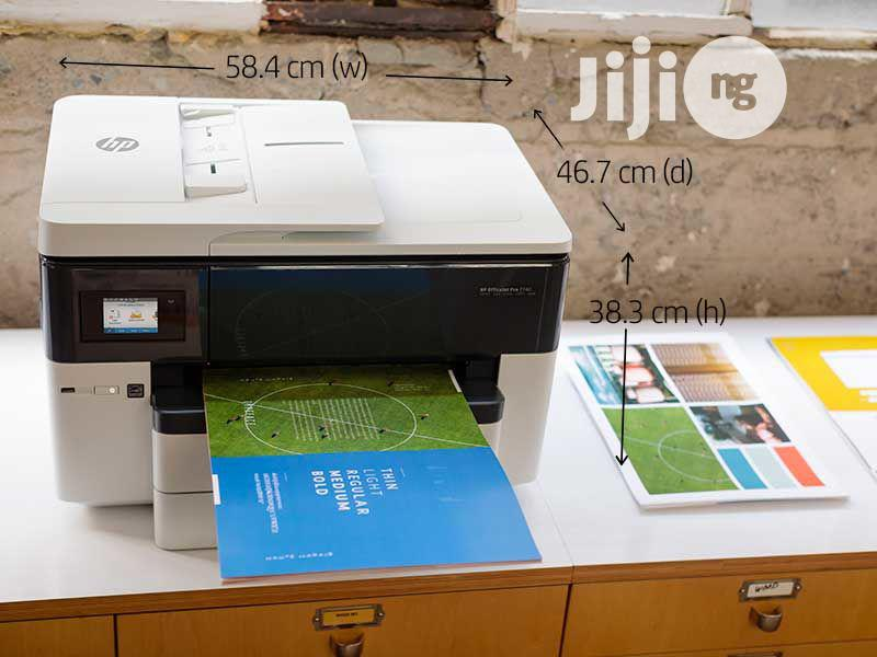 HP Officejet Pro 7740 Wide Format All-In-One Printer | Printers & Scanners for sale in Ikeja, Lagos State, Nigeria