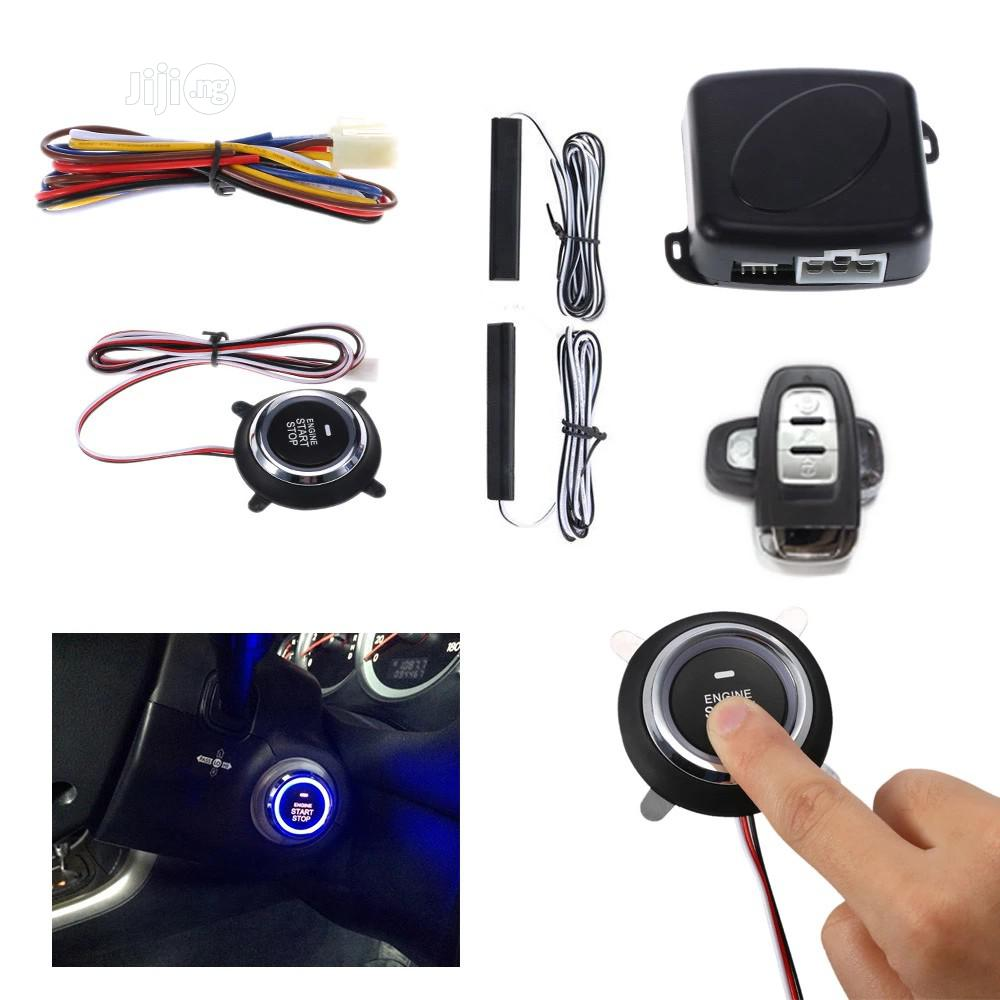 Universal Push Start/Stop and Remote Keyless Entry System   Vehicle Parts & Accessories for sale in Awka, Anambra State, Nigeria