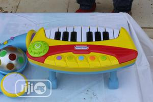 Toddler Keyboard With Microphone and Stand Children Toy Gift | Toys for sale in Lagos State, Ikeja