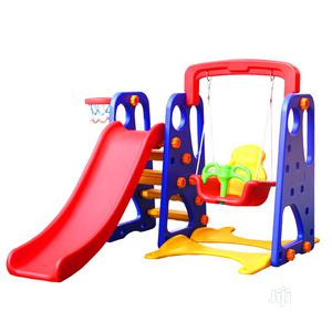 3 in 1 Indoor Slide, Swing and Basketball Hoop Children Set | Toys for sale in Abuja (FCT) State, Gwarinpa