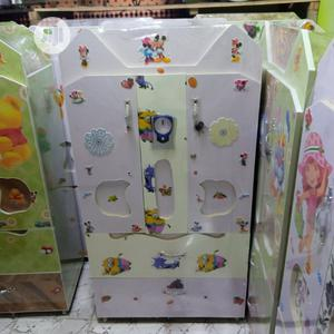 Baby Wooden Wardrobe White | Children's Furniture for sale in Lagos State, Badagry