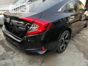 Honda Civic 2017 Black   Cars for sale in Lagos State, Ikeja