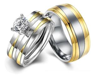 Titanium Wedding Set   Jewelry for sale in Rivers State, Port-Harcourt