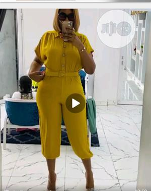 New Female Quality Jumpsuit With Belt | Clothing for sale in Lagos State, Ikeja