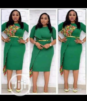 Quality Ladies Fitted Assymetric Gown | Clothing for sale in Lagos State, Ikeja