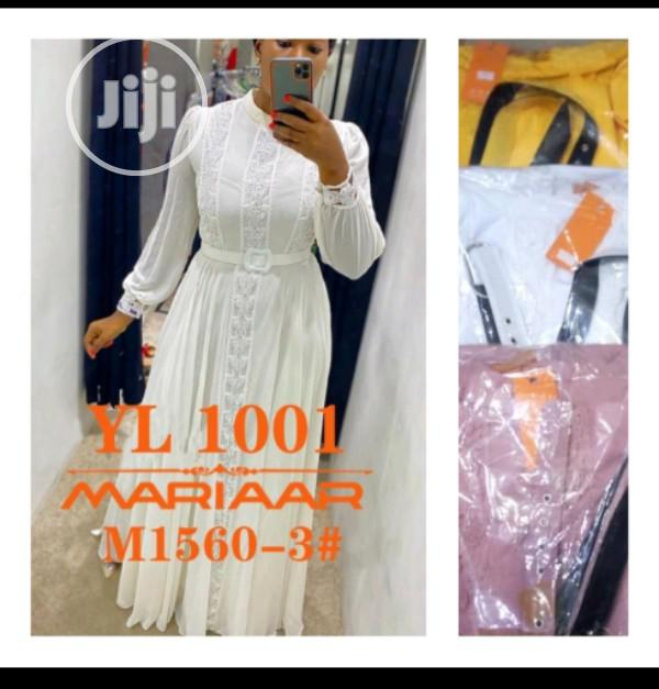 New Trendy Female Quality Long Gown