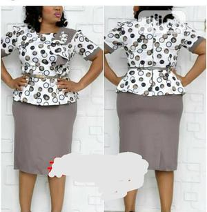 New Female Quality Turkey Skirt and Blouse | Clothing for sale in Lagos State, Ikeja