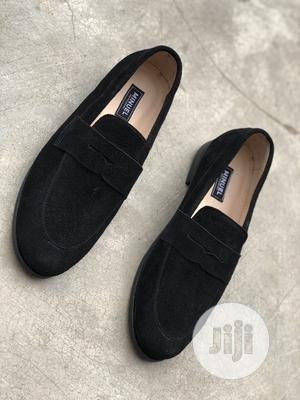 Blavk Suede Penny Loafers | Shoes for sale in Lagos State, Mushin