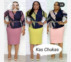 Classic Ladies Quality Fitted Gown   Clothing for sale in Lagos State, Ikeja
