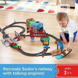 Fisher-Price Thomas Friends Talking Thomas Percy Train S | Toys for sale in Lagos State, Ajah