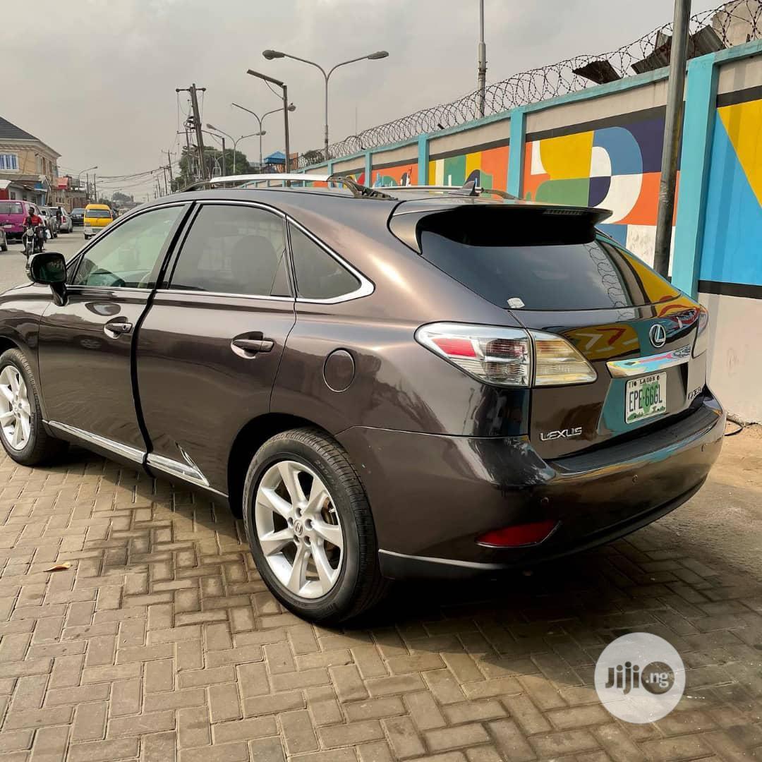 Lexus RX 2010 350 Black | Cars for sale in Surulere, Lagos State, Nigeria