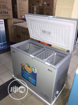Brand New POLYESTER Chest Freezer 300L, Silver, External | Kitchen Appliances for sale in Lagos State, Ojo