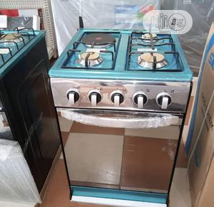 Brand New SKYRUN(50x50)3gas+1electric,Oven Grill,Silver | Kitchen Appliances for sale in Lagos State, Ojo