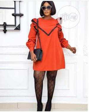 New Female Quality Flare Long Sleeve Short Gown | Clothing for sale in Lagos State, Ikeja