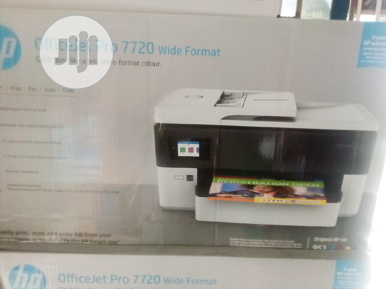 Archive: Hp Officejet 7720 Printer