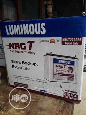 Original 200ah LUMINOUS Tubular Solar Battery   Solar Energy for sale in Lagos State, Ojo