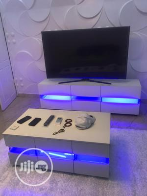 Center Table Nd Tv Set With LD Light | Furniture for sale in Lagos State, Lagos Island (Eko)