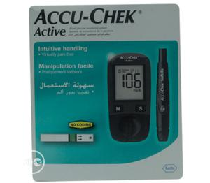Blood Glucose Meter KIT Accu Check Active | Medical Supplies & Equipment for sale in Lagos State, Surulere