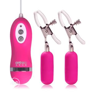 10 Modes Nipple Clamps Breast Clips Vibrator   Sexual Wellness for sale in Lagos State, Ikeja