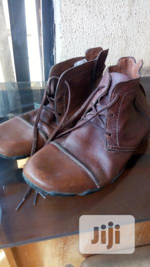 Brown Leather Ankle Boots.   Shoes for sale in Abuja (FCT) State, Gwagwalada