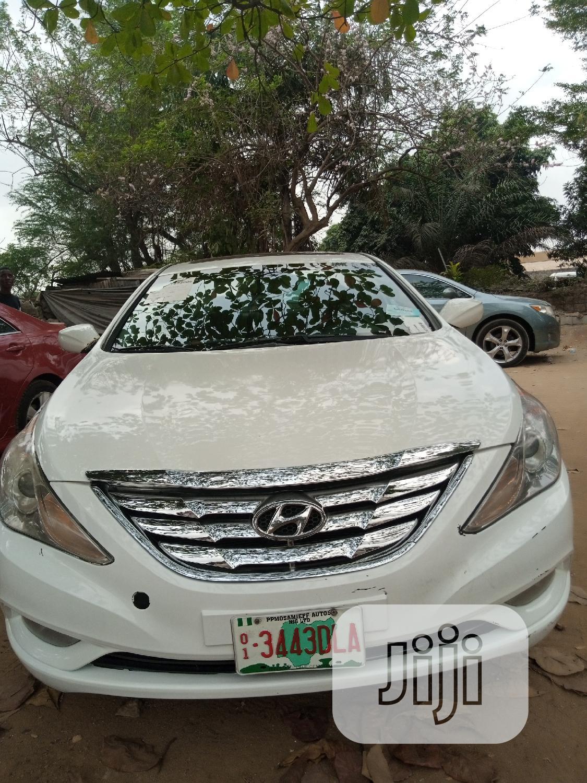 Hyundai Sonata 2013 White
