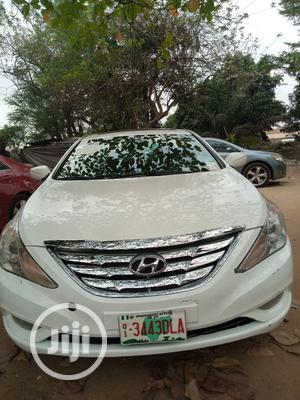 Hyundai Sonata 2013 White | Cars for sale in Lagos State, Magodo
