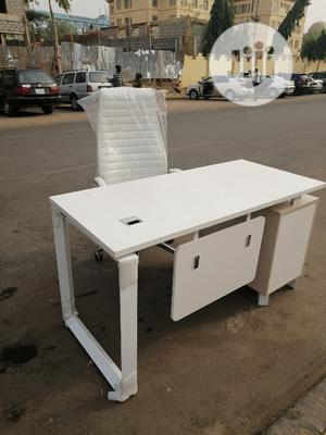 Quality Executive Office Table 1.4meter N Chair   Furniture for sale in Abuja (FCT) State, Central Business District