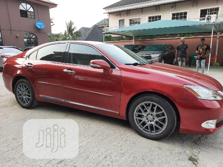 Lexus ES 2012 350 Red | Cars for sale in Amuwo-Odofin, Lagos State, Nigeria