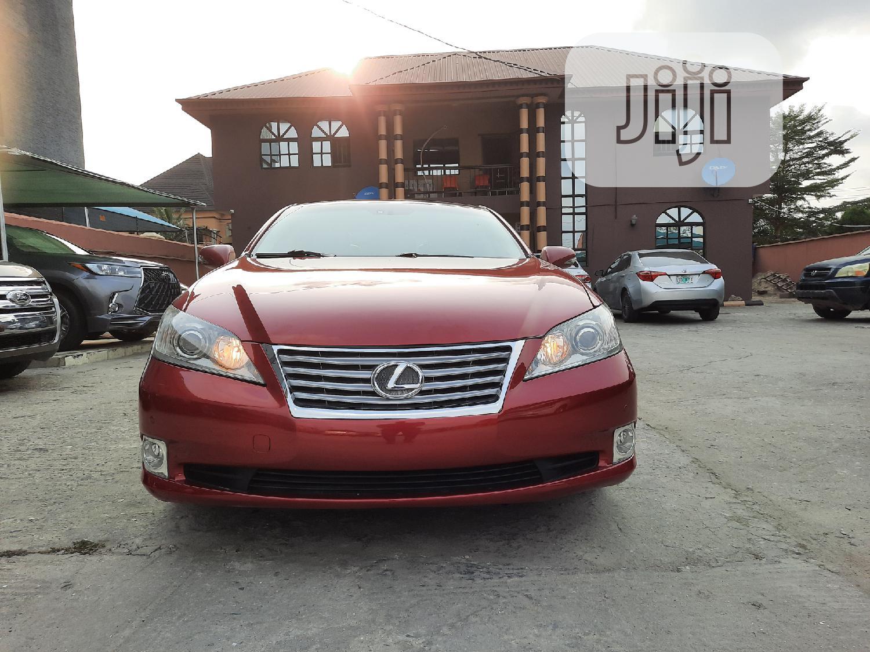 Lexus ES 2012 350 Red