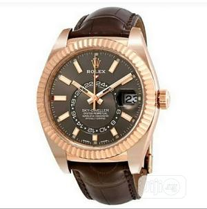 Rolex Leather Wristwatch | Watches for sale in Lagos State, Lagos Island (Eko)
