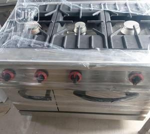 New Gas Cooker Oven With Cabinet | Restaurant & Catering Equipment for sale in Lagos State, Surulere