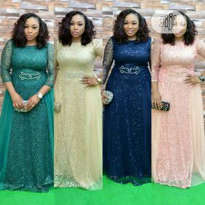 New Trendy Female Quality Turkey Long Dinner Gown | Clothing for sale in Lagos State, Ikeja