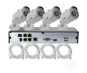 4ch 2MP Home Use Wired Bullet POE IP Camera Hotselling Cheap   Security & Surveillance for sale in Lagos State, Ikeja