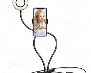 Selfie Ring Light With Phone Holder Stand | Accessories & Supplies for Electronics for sale in Lagos State, Surulere