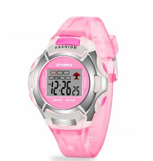 Pink Silicon Strap Digital Watch for Girls | Babies & Kids Accessories for sale in Lagos State, Magodo