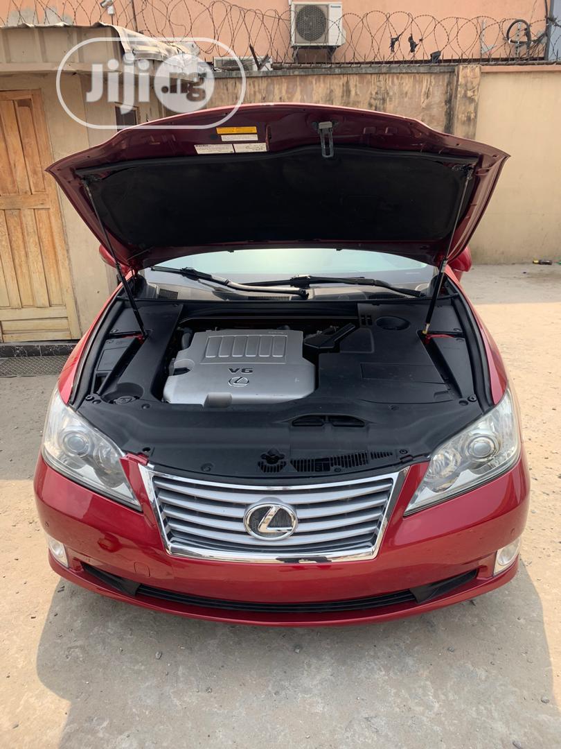 Archive: Lexus ES 2012 350 Red