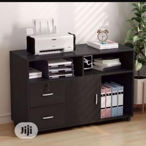 2 Drawer Mobile Lateral Filing Cabinet With Locks and Wheels | Furniture for sale in Ogun State, Abeokuta South
