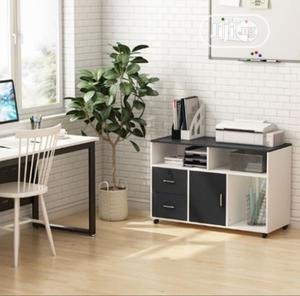 2 Drawer Mobile Lateral Filing Cabinet With Locks and Wheels | Furniture for sale in Oyo State, Ibadan