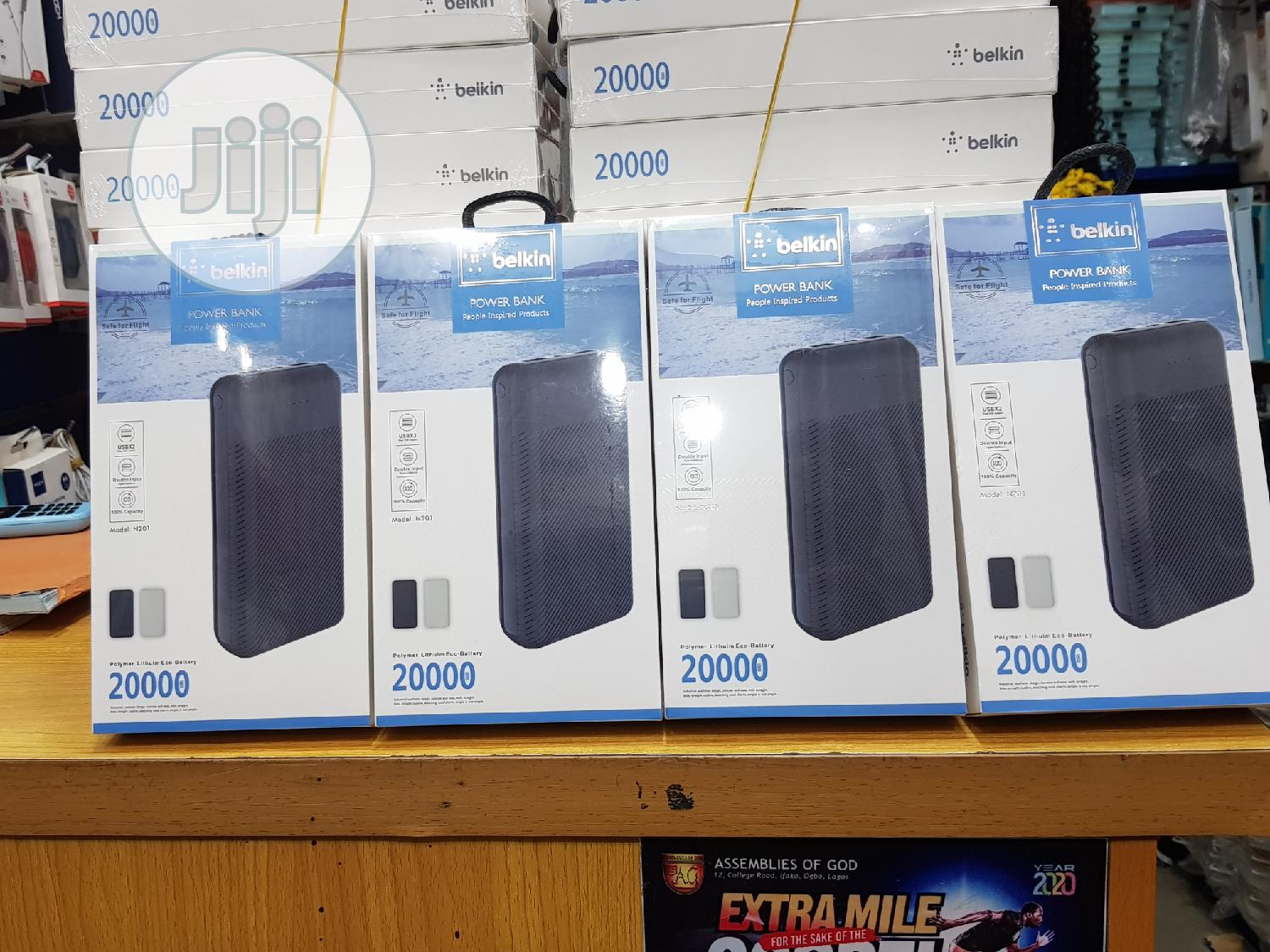 Belkin Power Bank 20,000mah | Accessories for Mobile Phones & Tablets for sale in Ikeja, Lagos State, Nigeria