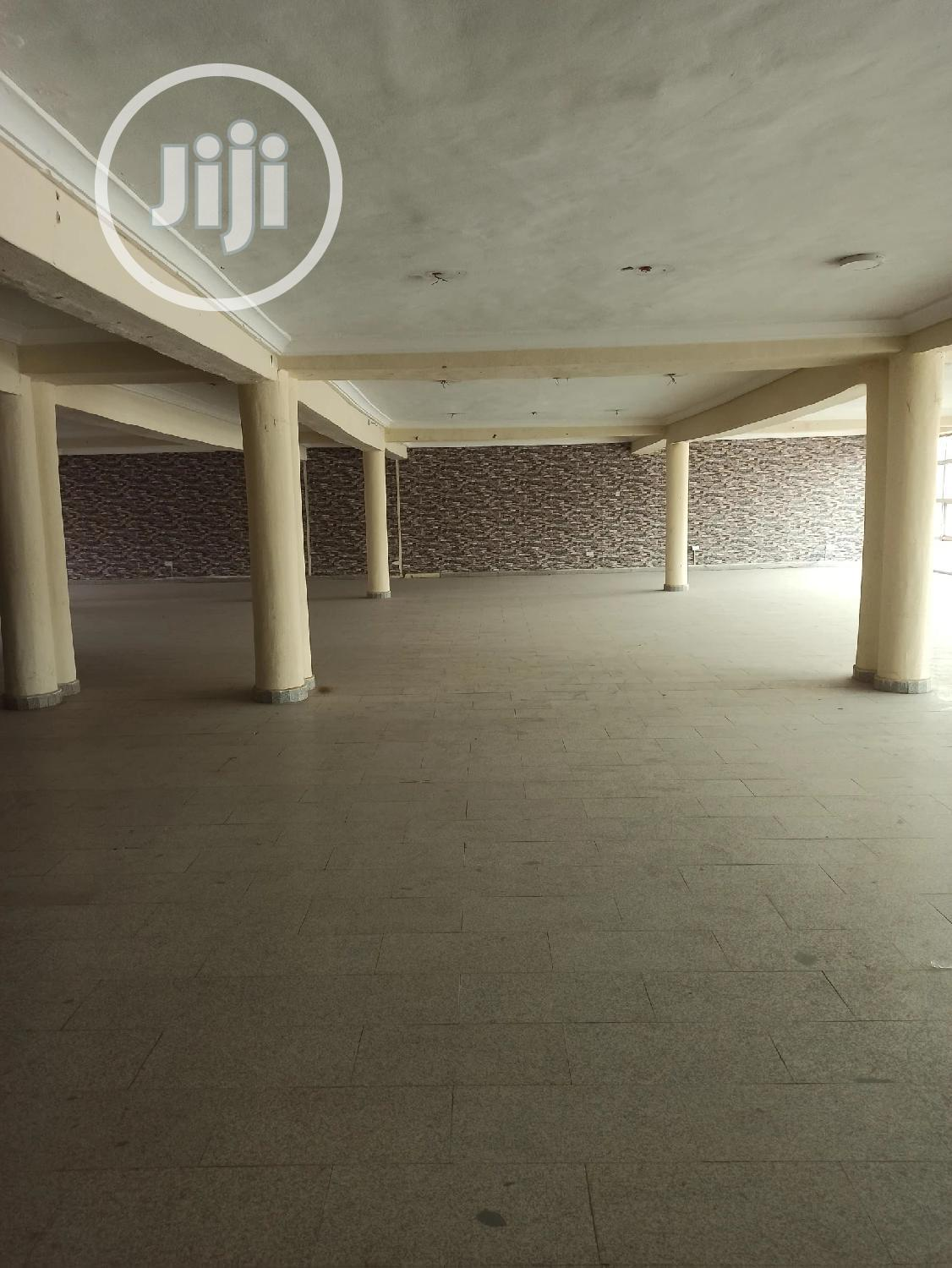 500sqm Space/ Hall for Rent in Wuse2