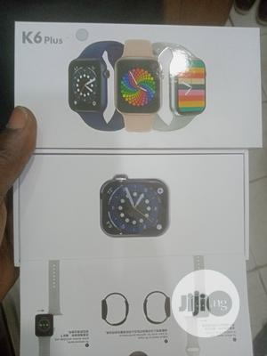 K6 Plus -44mm Apple Series 6 Full Screen Smart Watch   Smart Watches & Trackers for sale in Lagos State, Ikeja